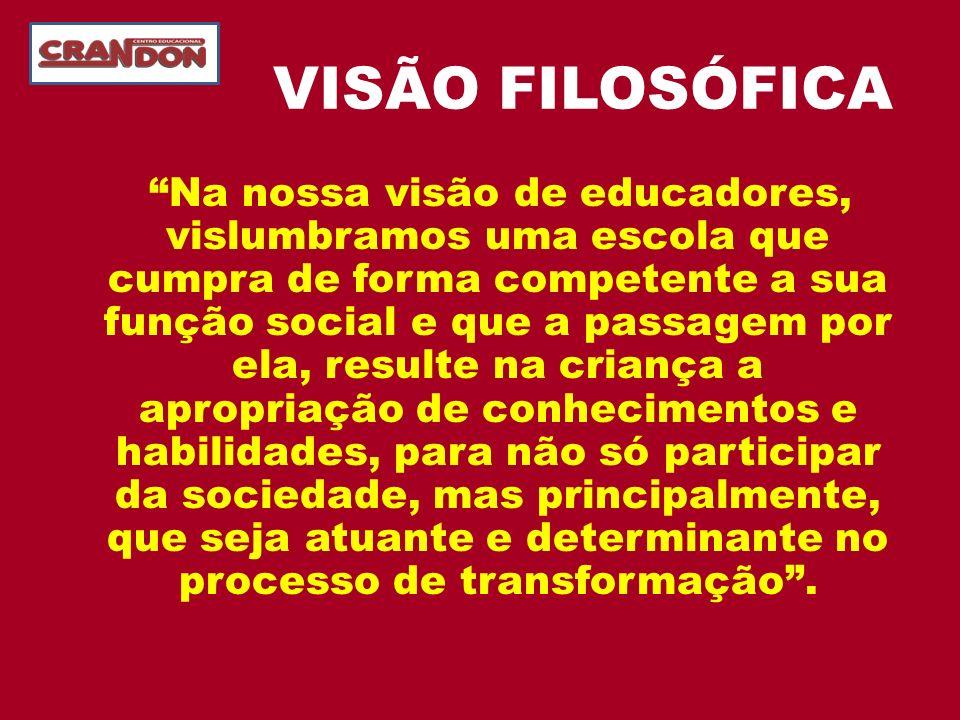 VISÃO FILOSÓFICA