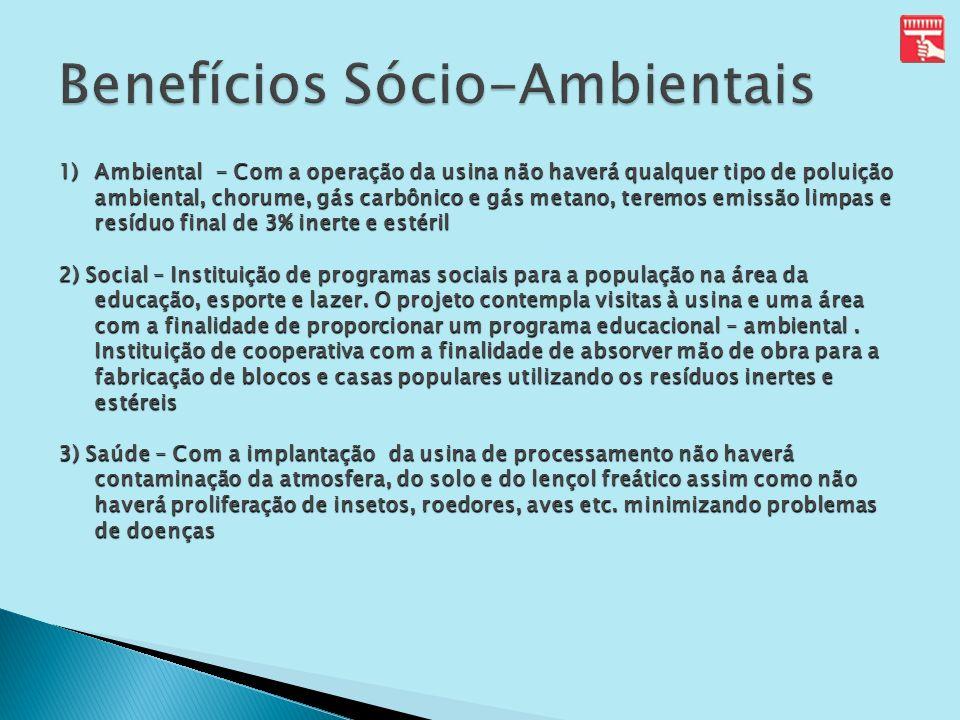 Benefícios Sócio-Ambientais