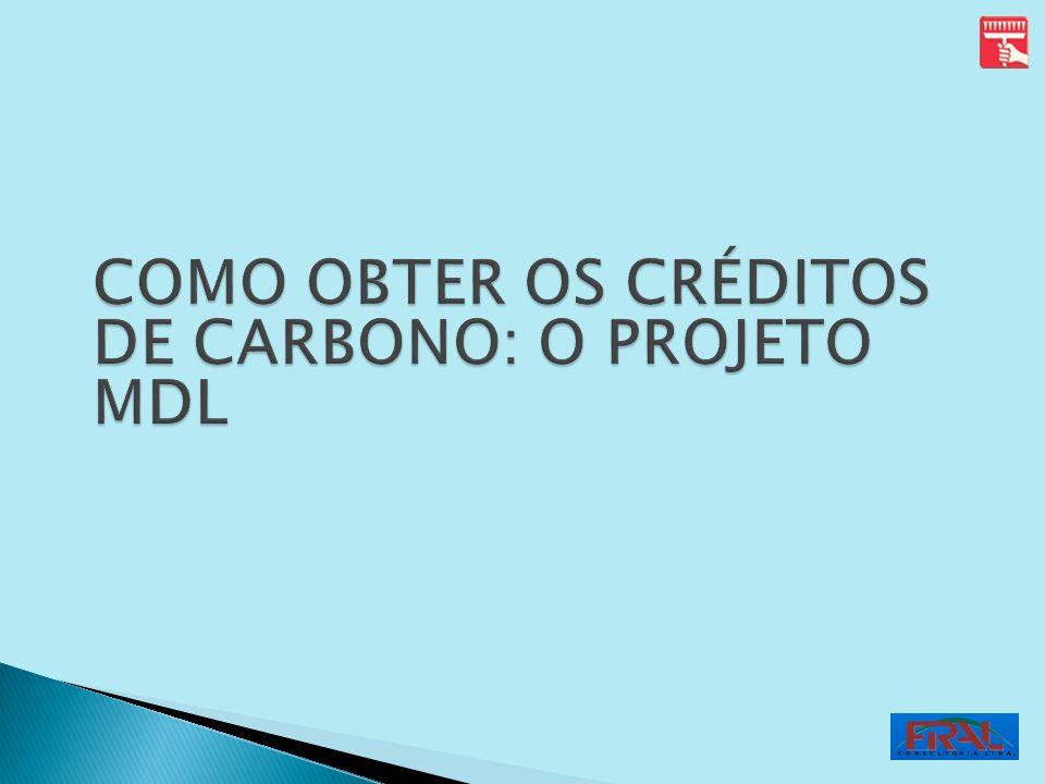 COMO OBTER OS CRÉDITOS DE CARBONO: O PROJETO MDL
