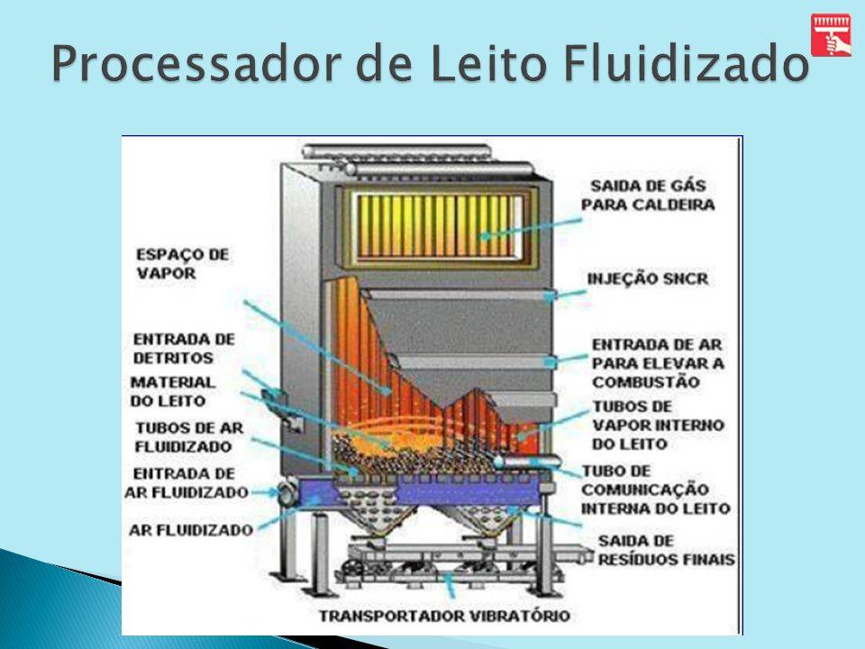 Processador de Leito Fluidizado