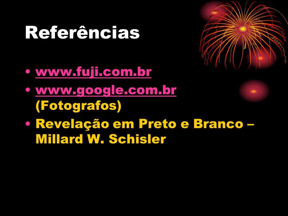Referências www.fuji.com.br www.google.com.br (Fotografos)