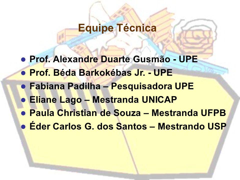 Equipe Técnica Prof. Alexandre Duarte Gusmão - UPE