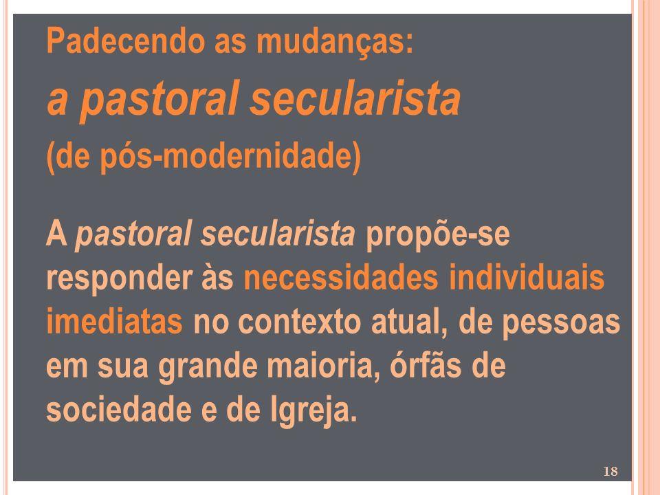 a pastoral secularista
