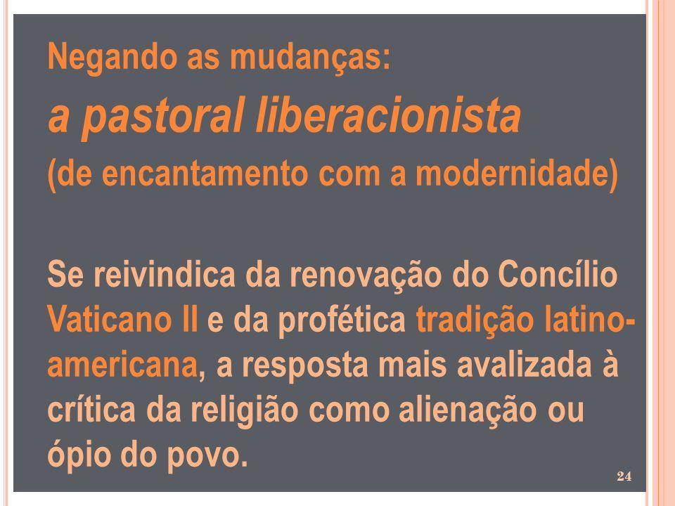 a pastoral liberacionista