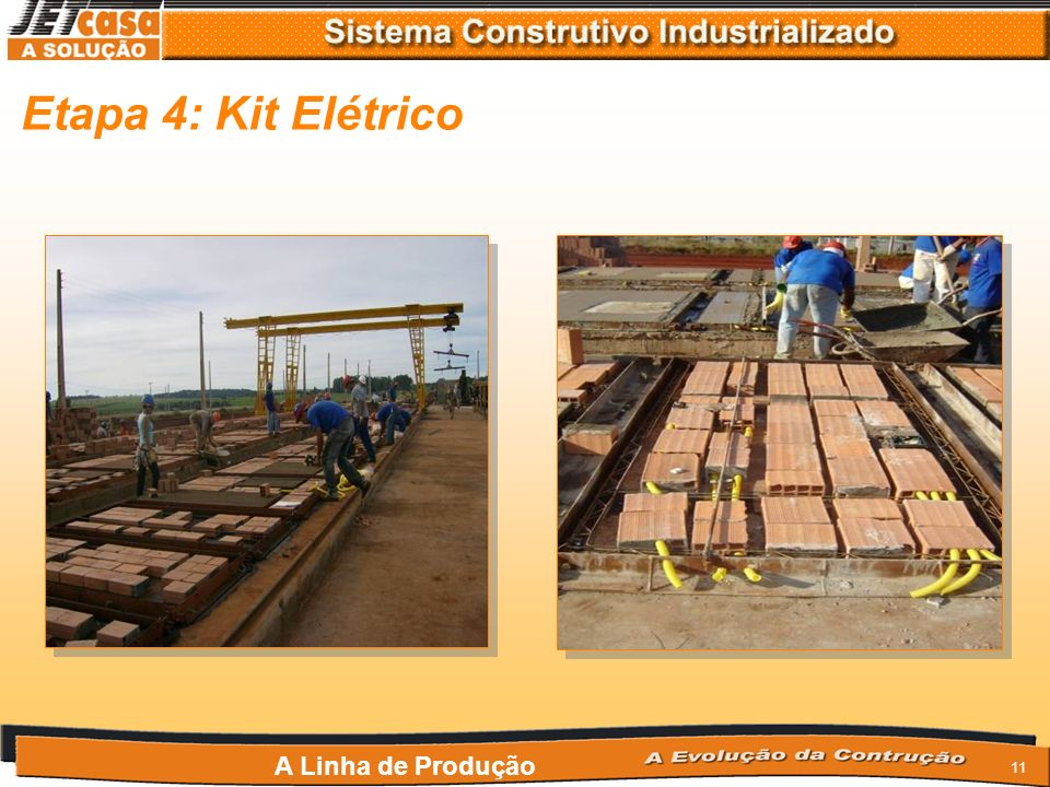 Etapa 4: Kit Elétrico A Linha de Produção