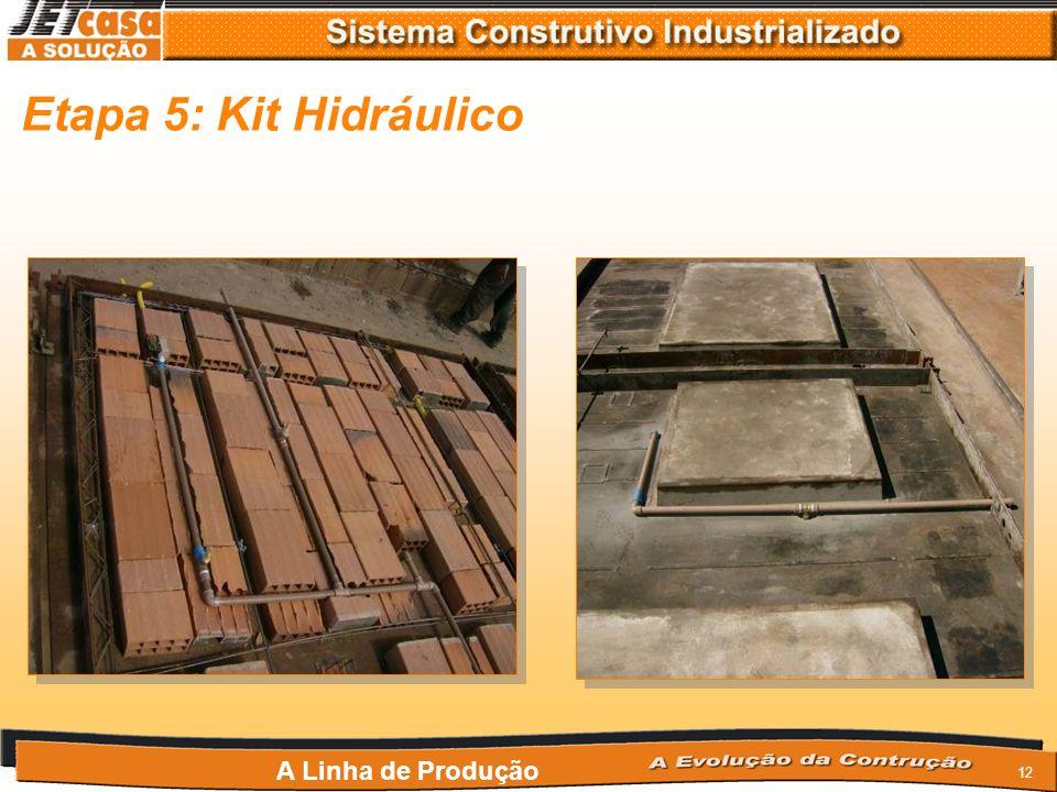 Etapa 5: Kit Hidráulico A Linha de Produção