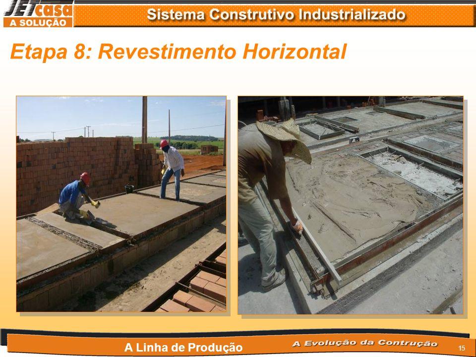 Etapa 8: Revestimento Horizontal