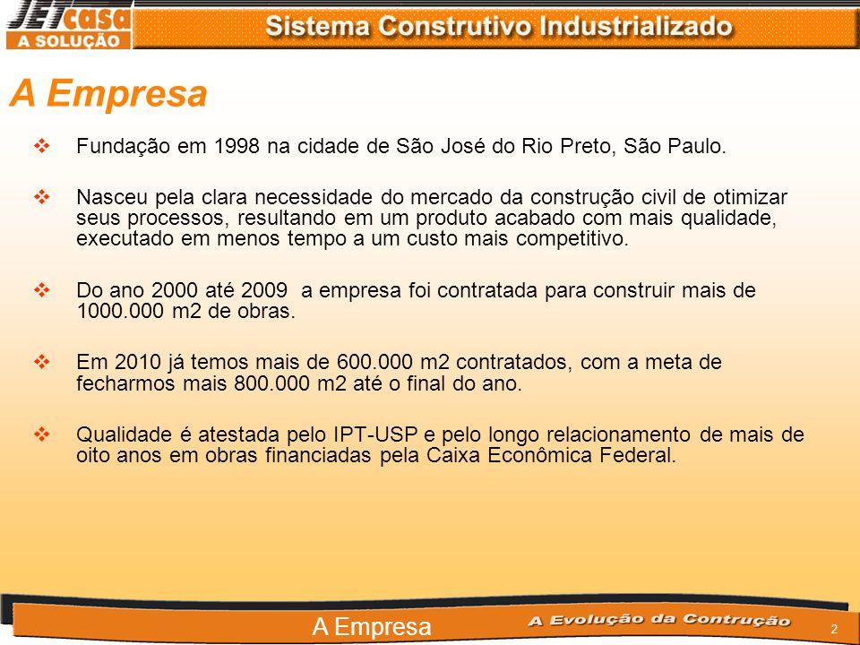 A Empresa Fundação em 1998 na cidade de São José do Rio Preto, São Paulo.
