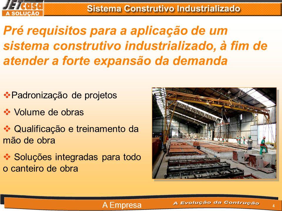 Pré requisitos para a aplicação de um sistema construtivo industrializado, à fim de atender a forte expansão da demanda