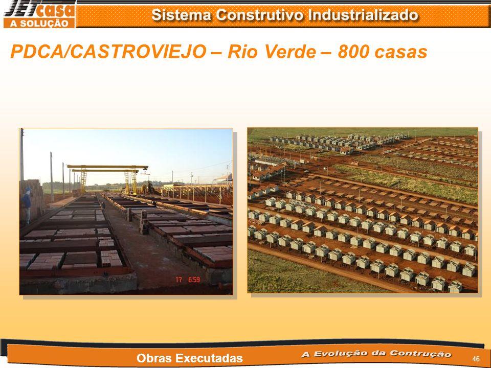 PDCA/CASTROVIEJO – Rio Verde – 800 casas