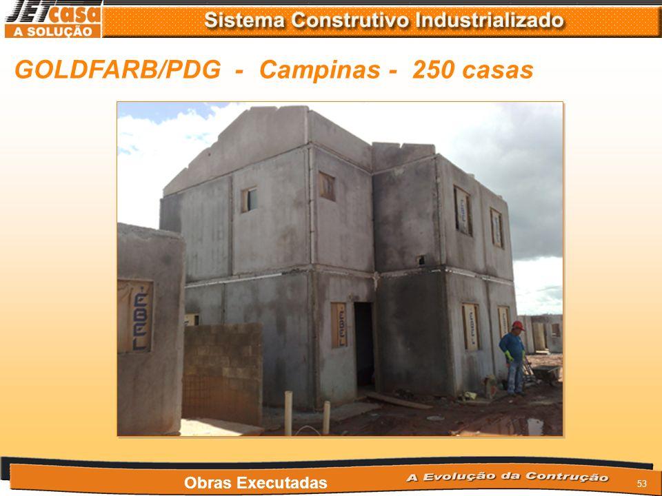 GOLDFARB/PDG - Campinas - 250 casas