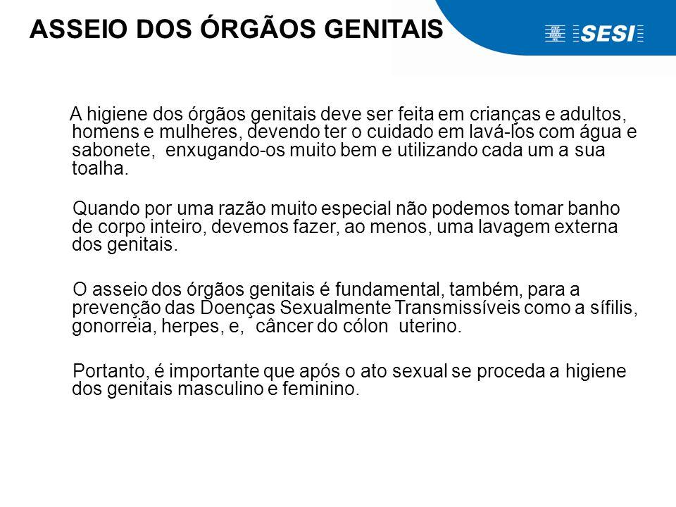 ASSEIO DOS ÓRGÃOS GENITAIS
