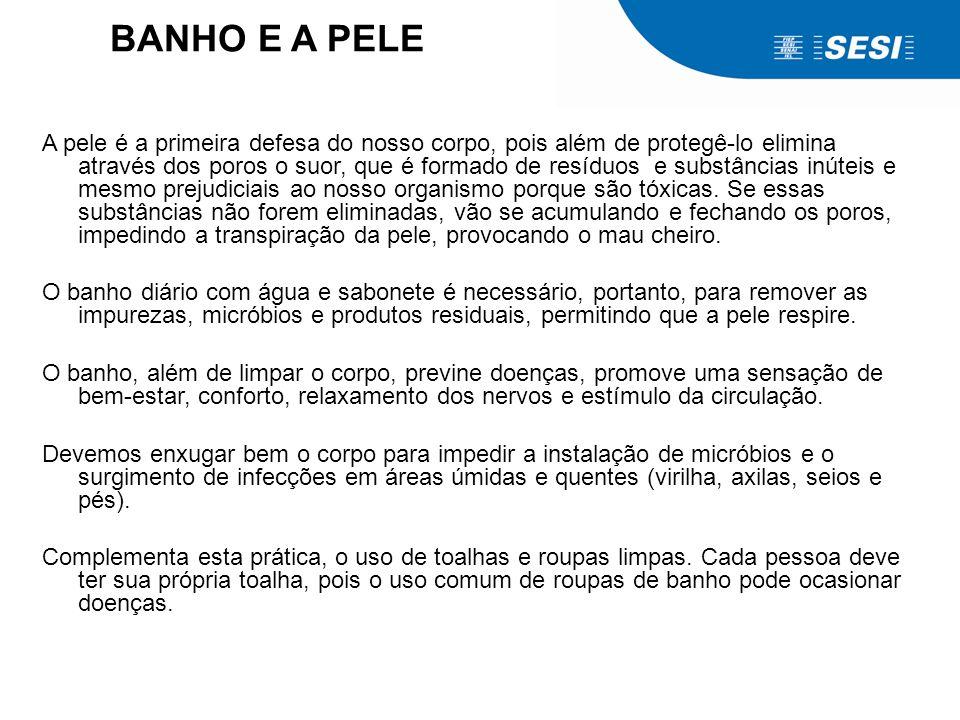 O BANHO E A PELE