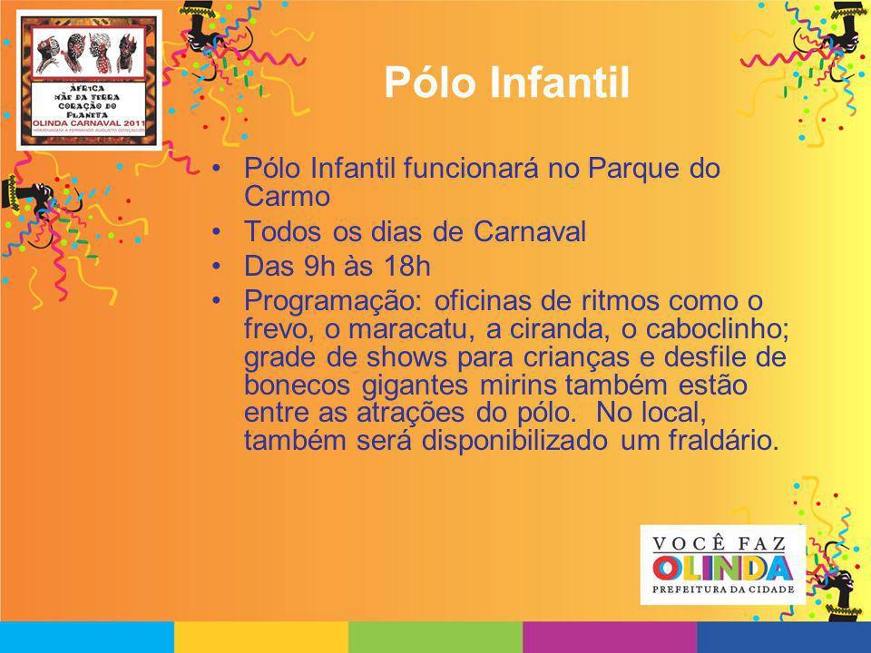 Pólo Infantil Pólo Infantil funcionará no Parque do Carmo