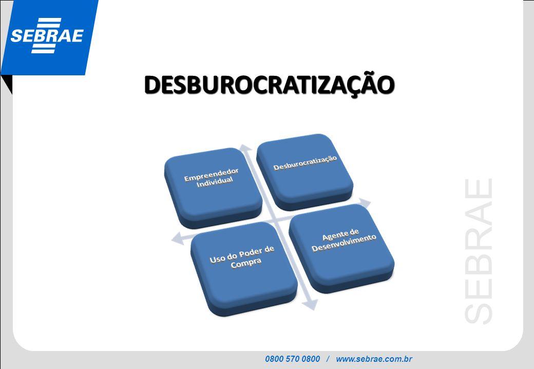DESBUROCRATIZAÇÃO