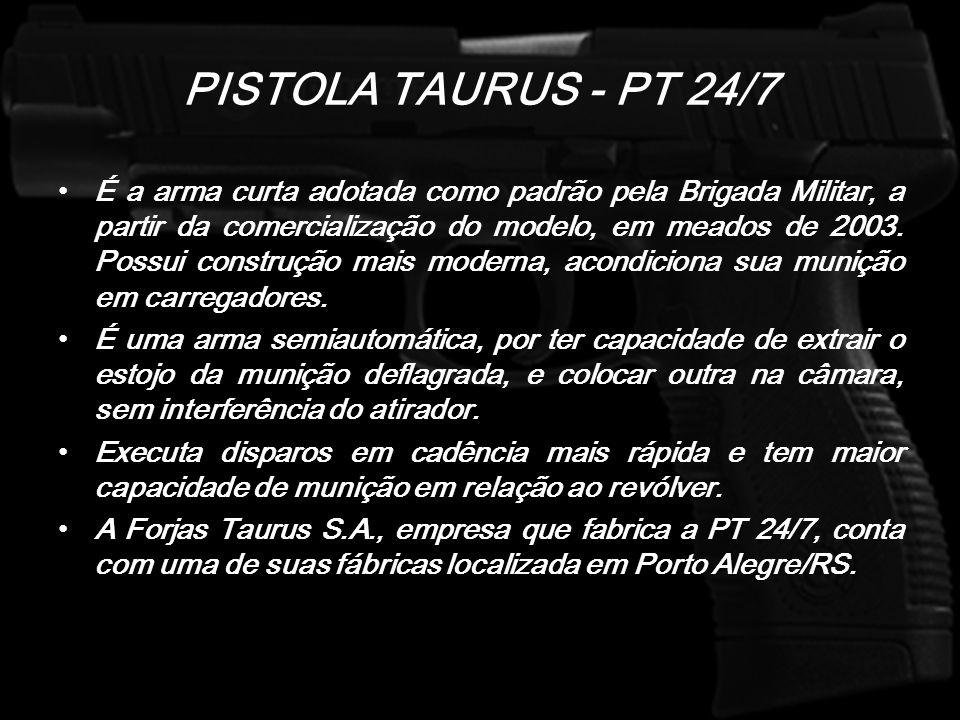 PISTOLA TAURUS - PT 24/7