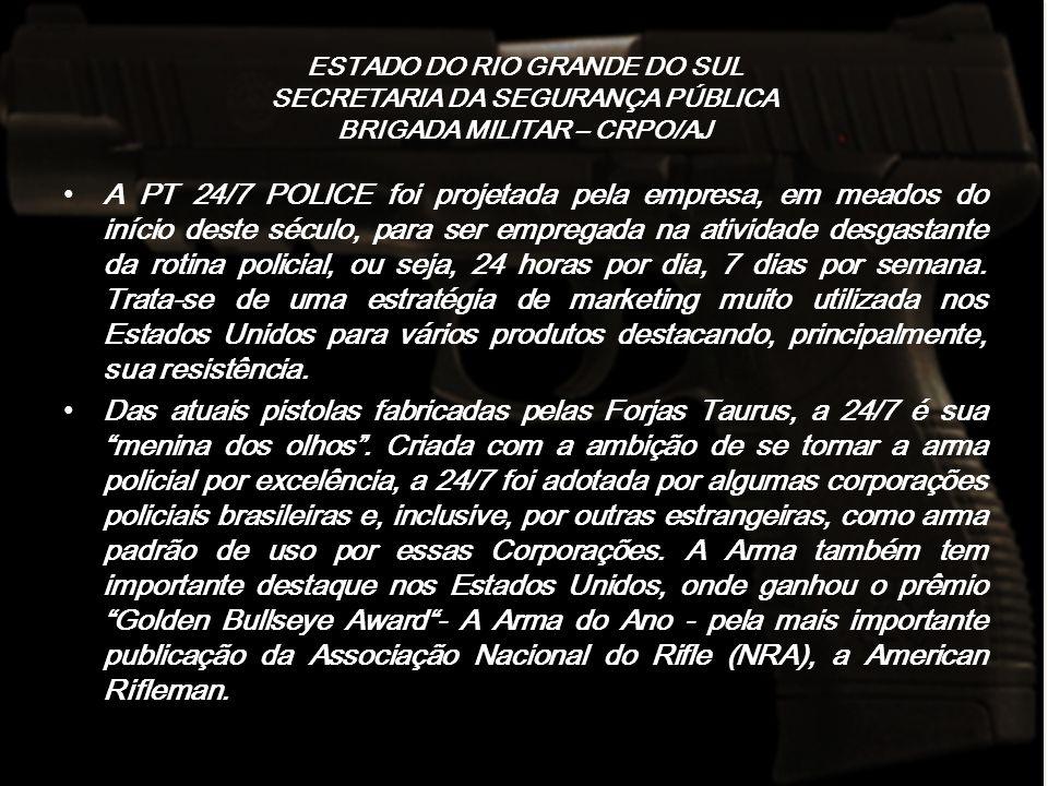 ESTADO DO RIO GRANDE DO SUL SECRETARIA DA SEGURANÇA PÚBLICA BRIGADA MILITAR – CRPO/AJ