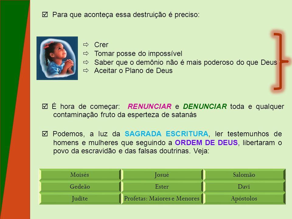 Profetas: Maiores e Menores