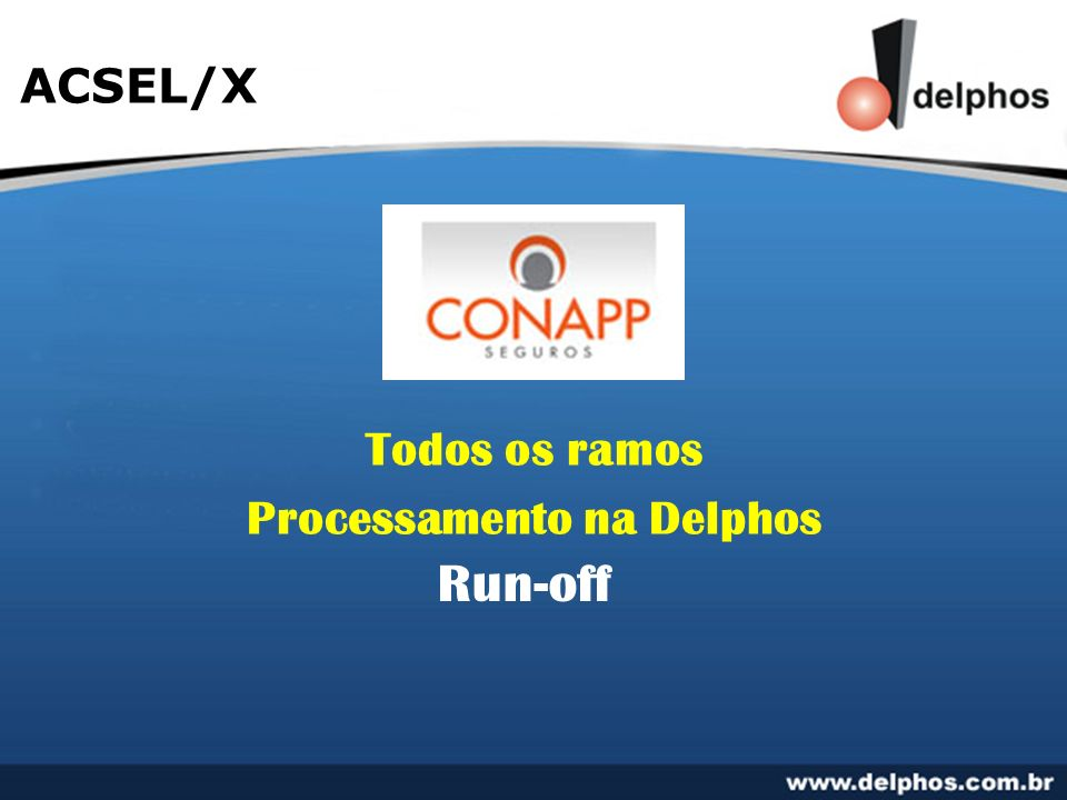 Processamento na Delphos