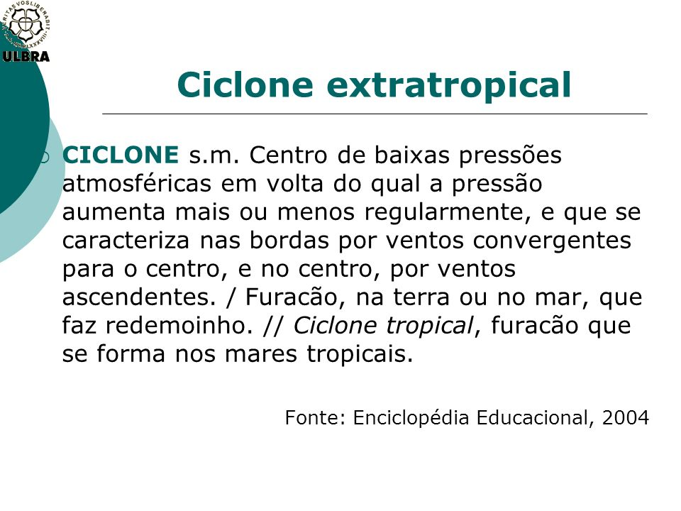 Ciclone extratropical