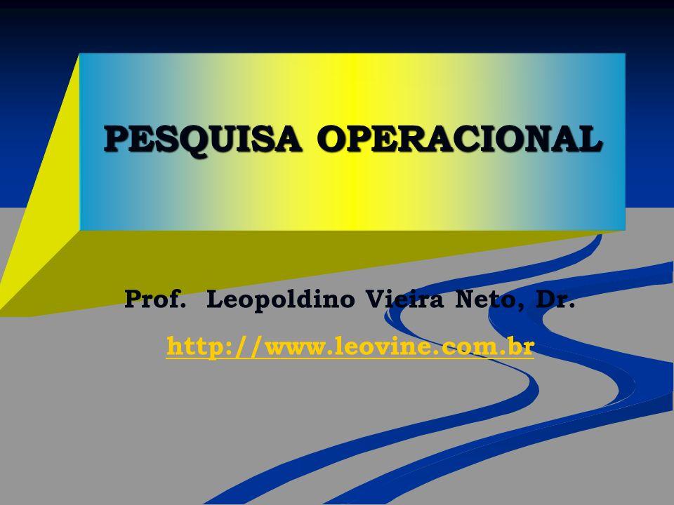 Prof. Leopoldino Vieira Neto, Dr.