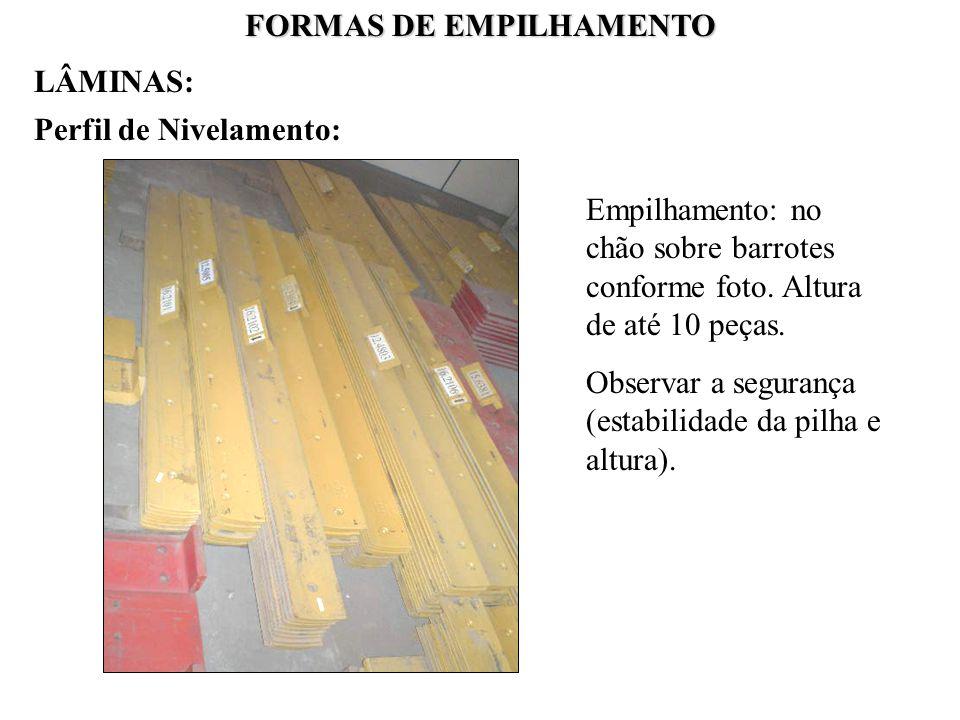 FORMAS DE EMPILHAMENTO