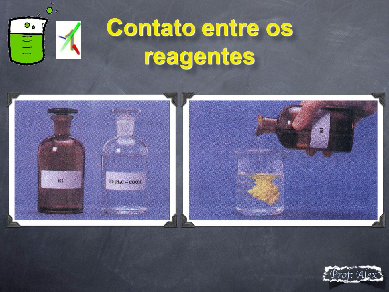 Contato entre os reagentes