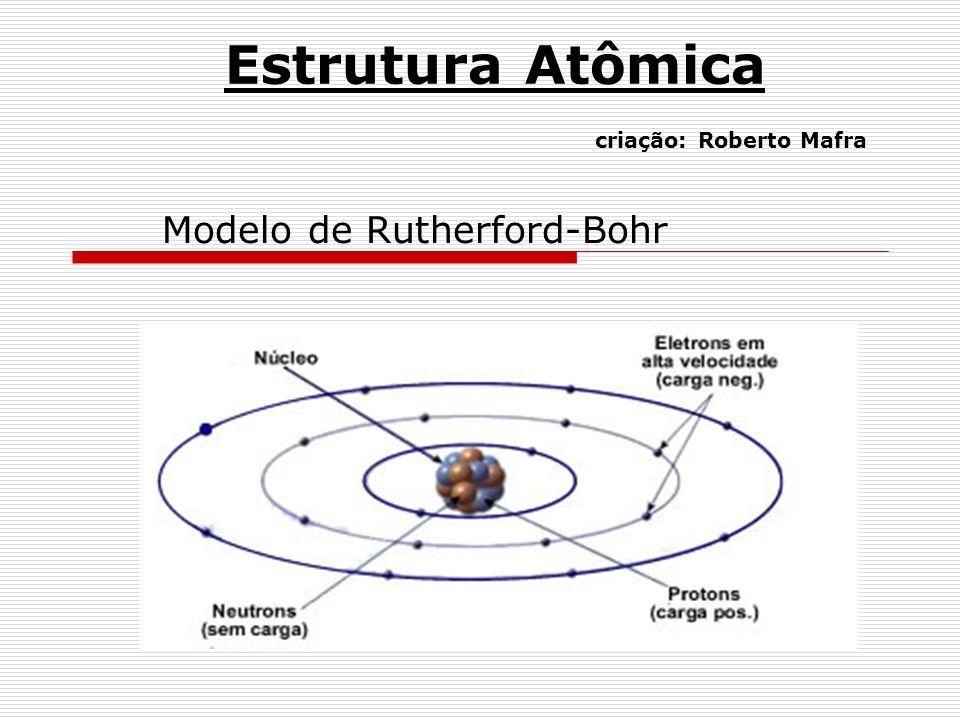 Estrutura Atômica criação: Roberto Mafra