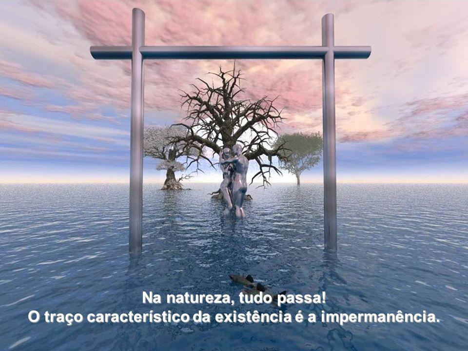 O traço característico da existência é a impermanência.