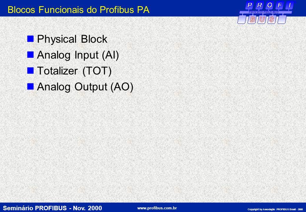 Blocos Funcionais do Profibus PA