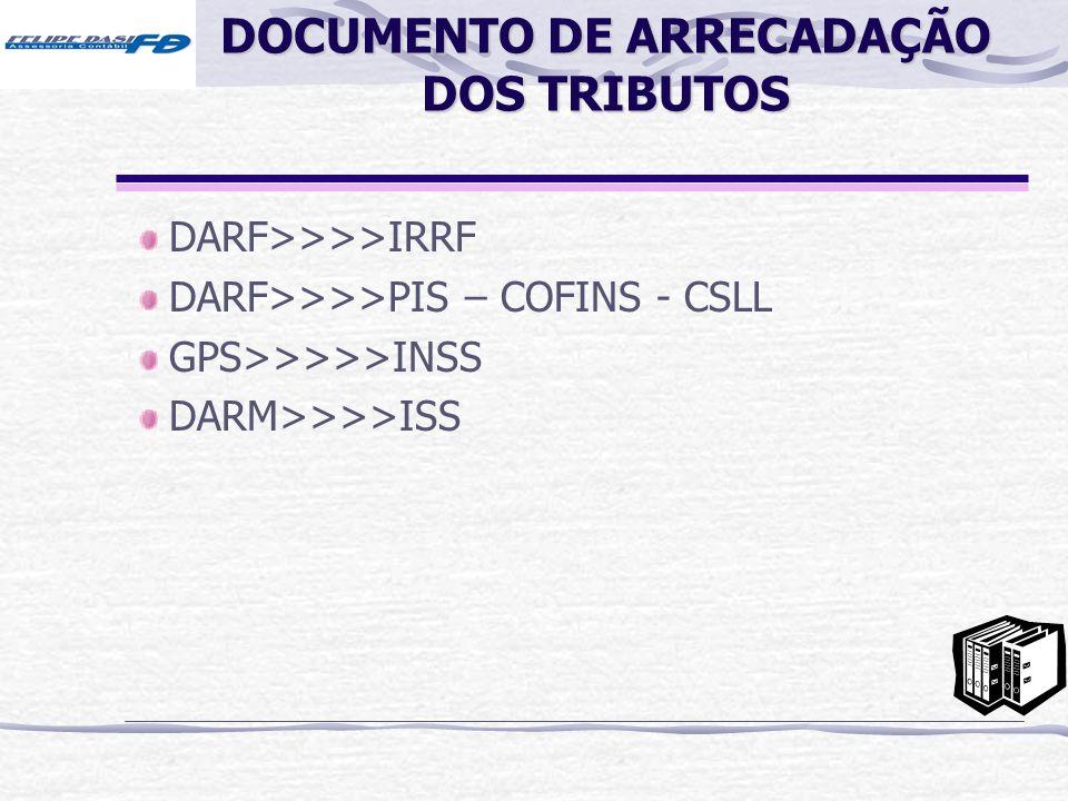 DOCUMENTO DE ARRECADAÇÃO DOS TRIBUTOS