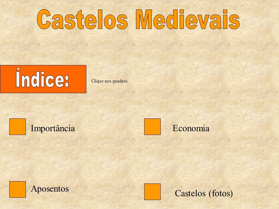 Castelos Medievais Índice: Importância Economia Aposentos