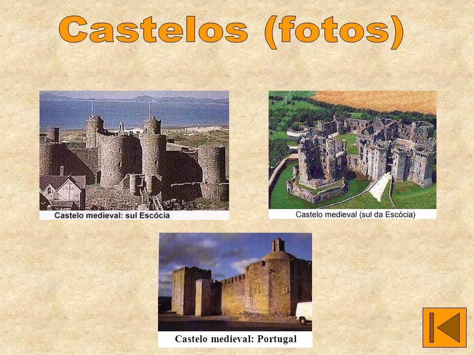 Castelos (fotos) Castelo medieval: Portugal