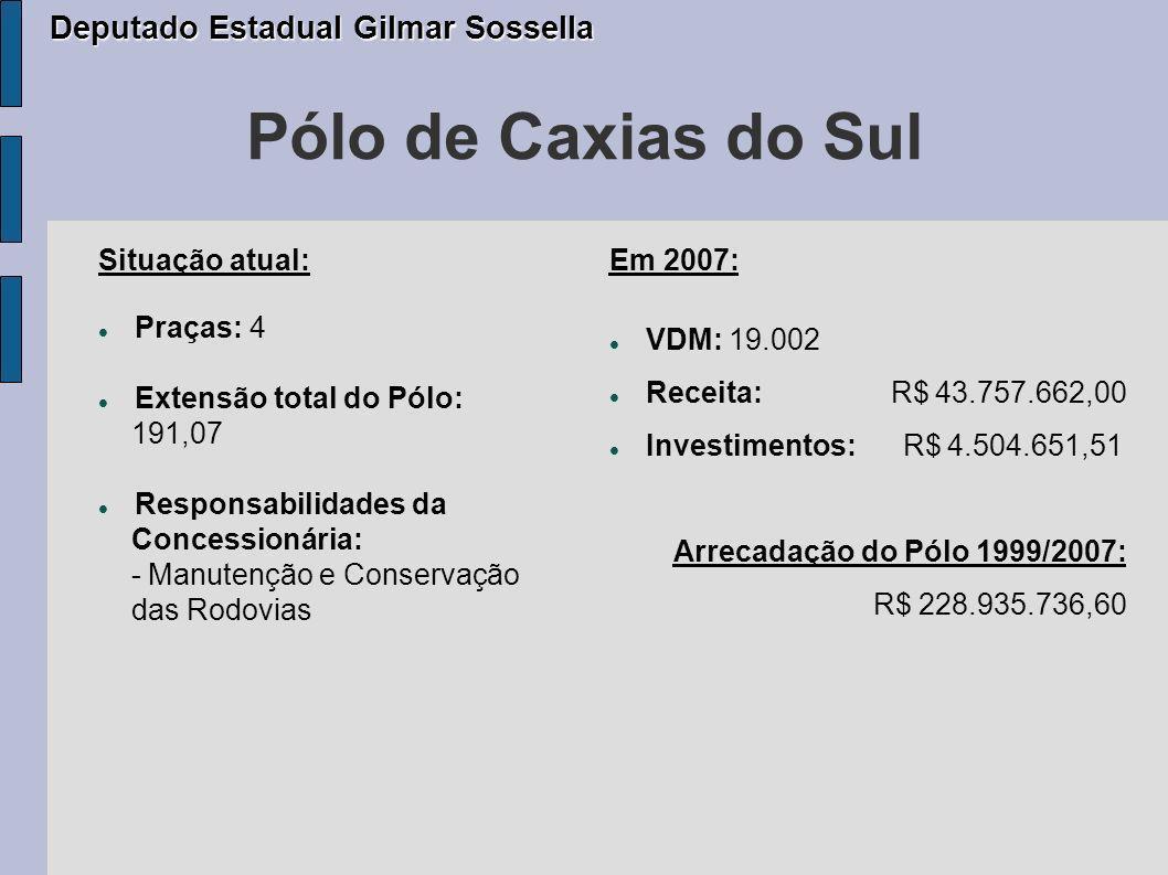 Pólo de Caxias do Sul Deputado Estadual Gilmar Sossella