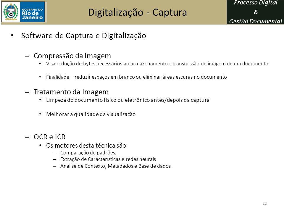 Digitalização - Captura