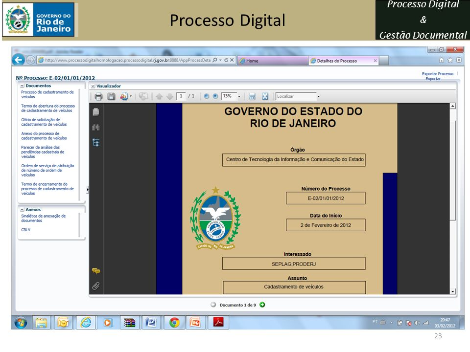 Processo Digital