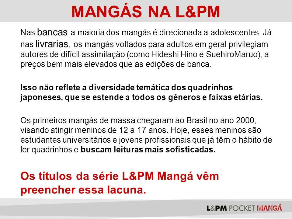MANGÁS NA L&PM