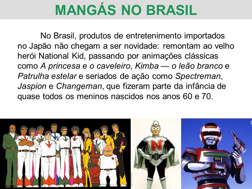 MANGÁS NO BRASIL
