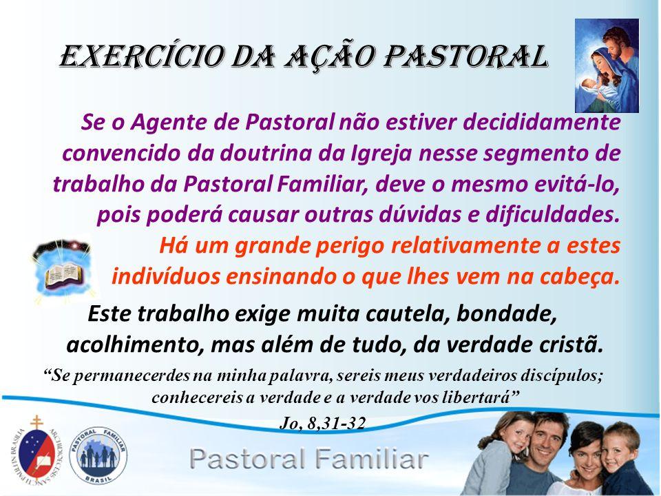 Exercício da Ação Pastoral