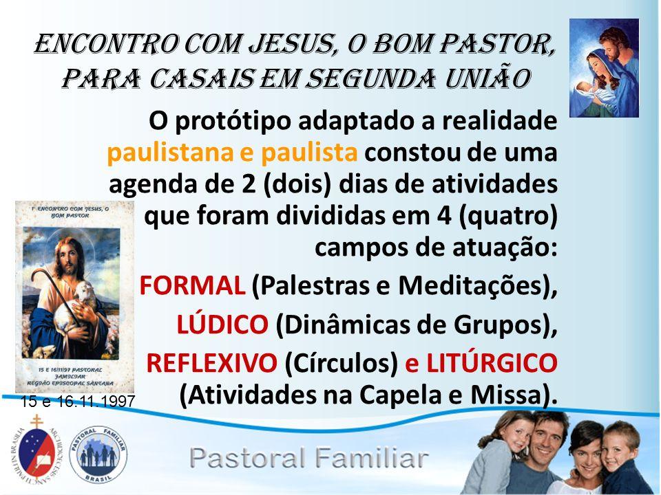 Encontro com Jesus, o Bom Pastor, para casais em segunda união