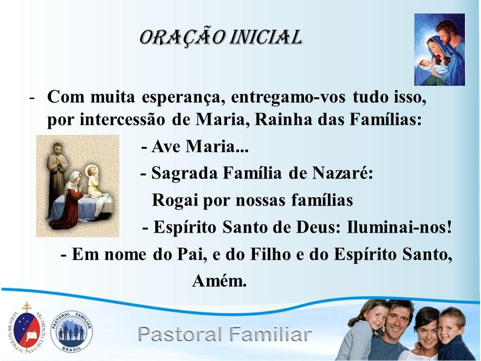 - Sagrada Família de Nazaré: Rogai por nossas famílias