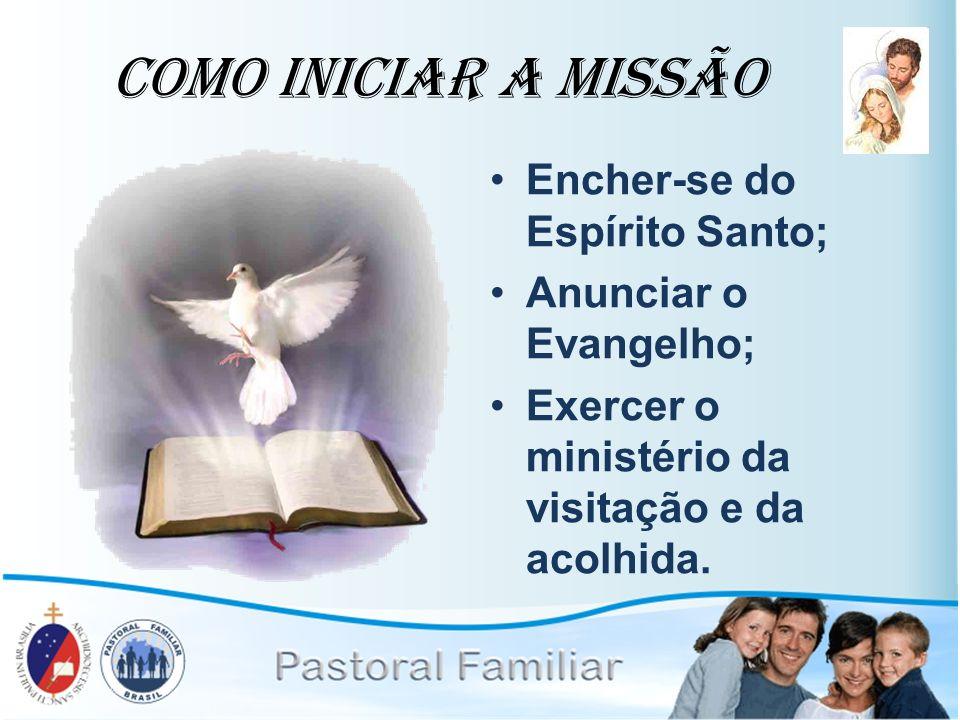 Como Iniciar a Missão Encher-se do Espírito Santo;