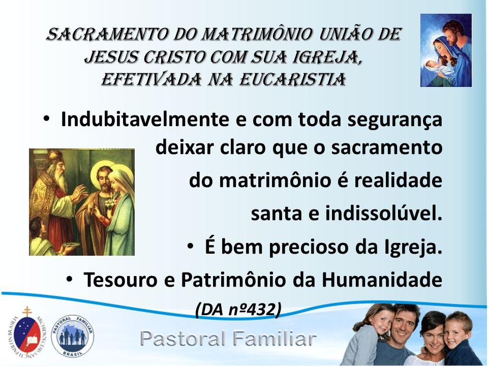 Sacramento Do Matrimonio Na Bíblia : Ênfase na segunda união setor casos especiais nulidade