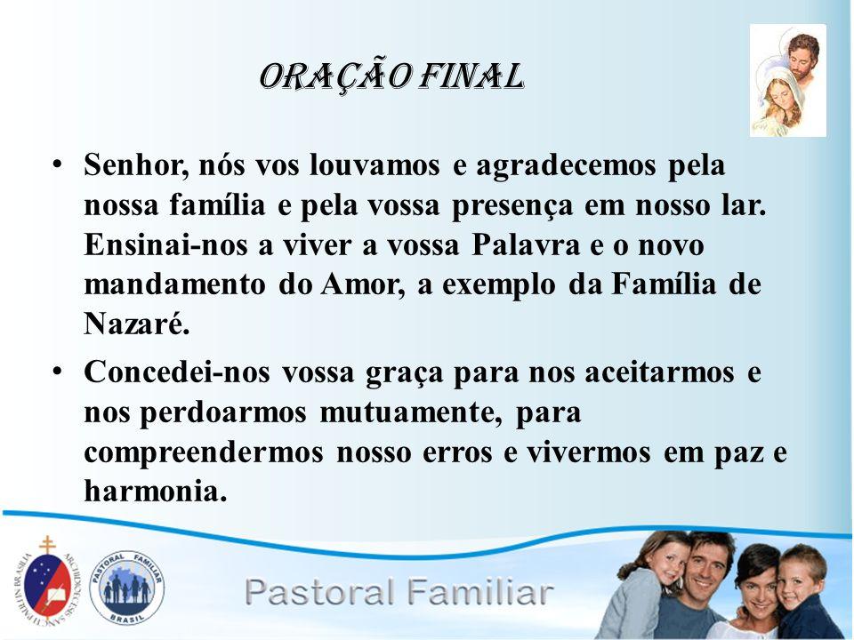 Oração Final