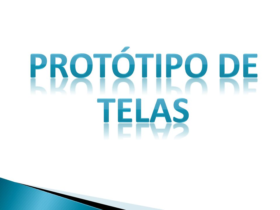 PROTÓTIPO DE TELAS