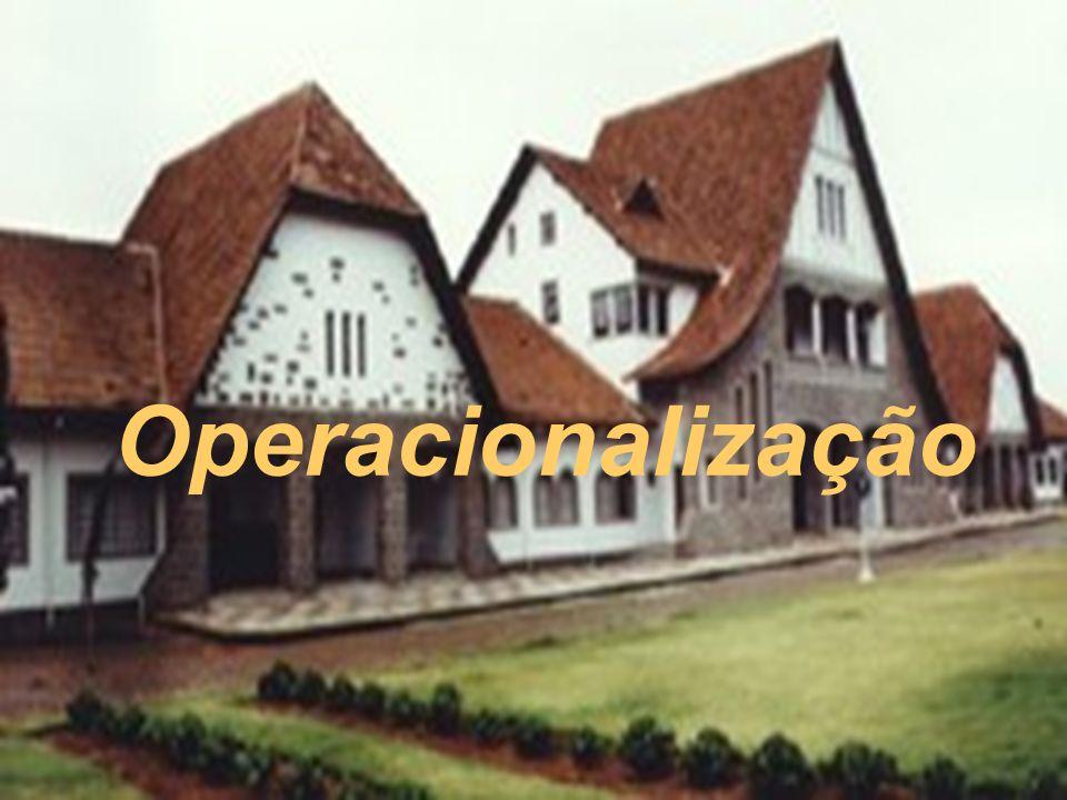 Operacionalização