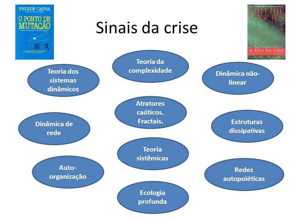 Sinais da crise Teoria da complexidade Dinâmica não-linear