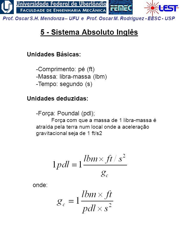 5 - Sistema Absoluto Inglês