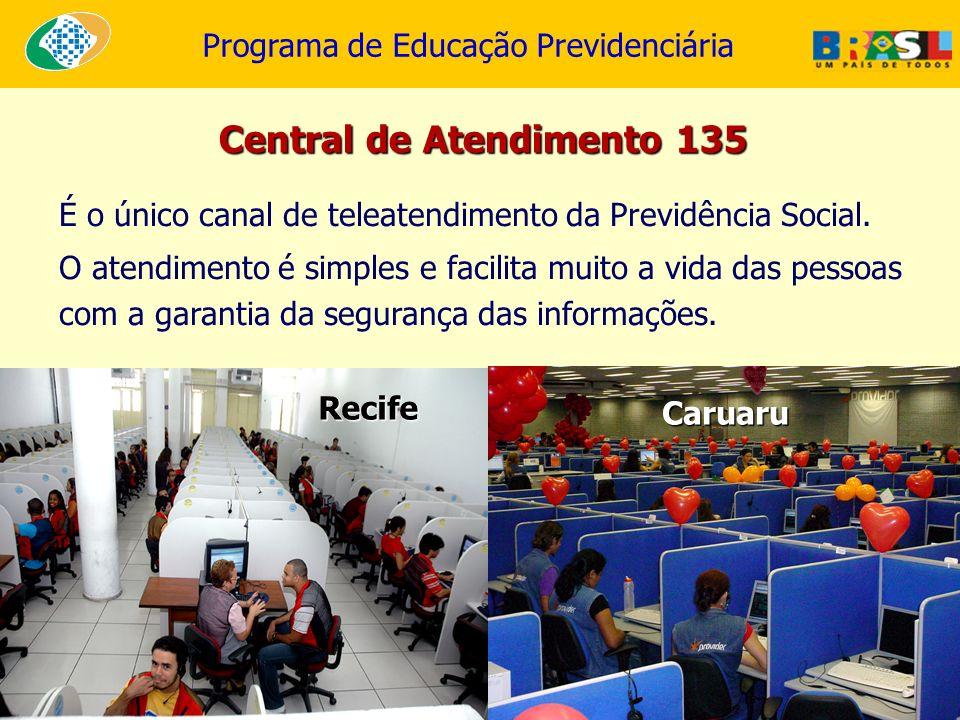 Central de Atendimento 135