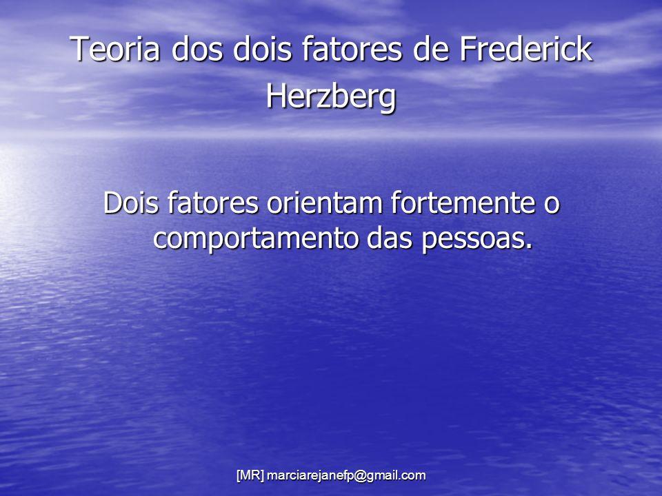 Teoria dos dois fatores de Frederick Herzberg
